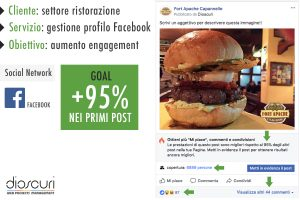 gestione facebook per aziende